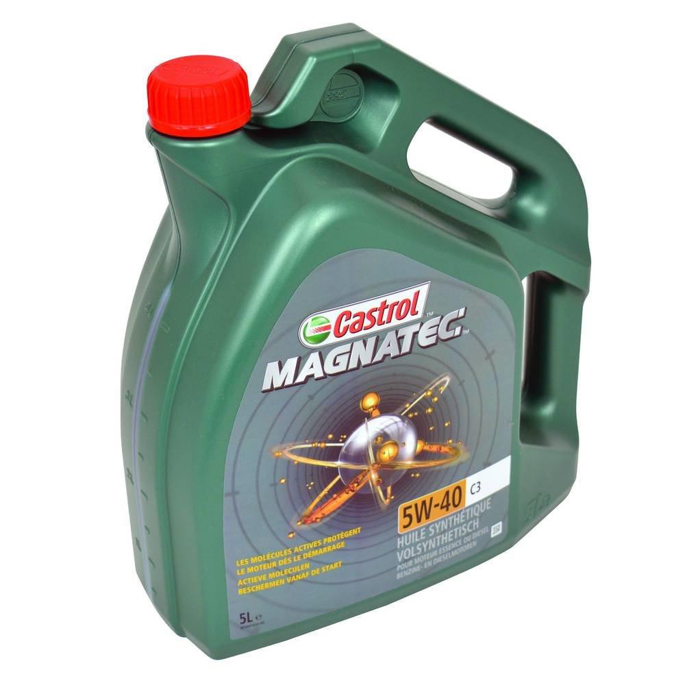CASTROL MAGNATEC C3 NEW 5W40 4X5L