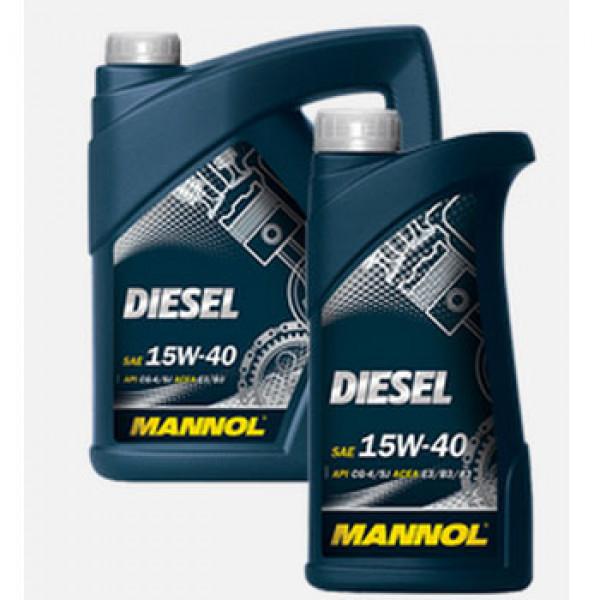 MANNOL DIESEL 15W401 LIT