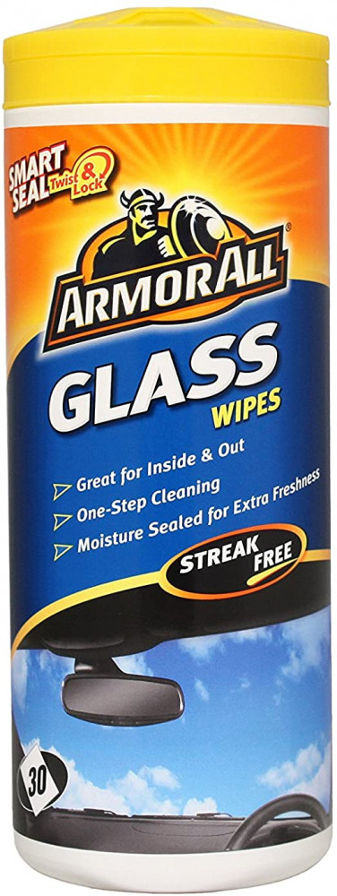 ESSENTIALS GLASS WIPES