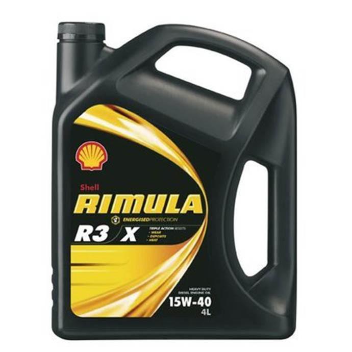 SHELL Rimula R3X 15W-40 4L