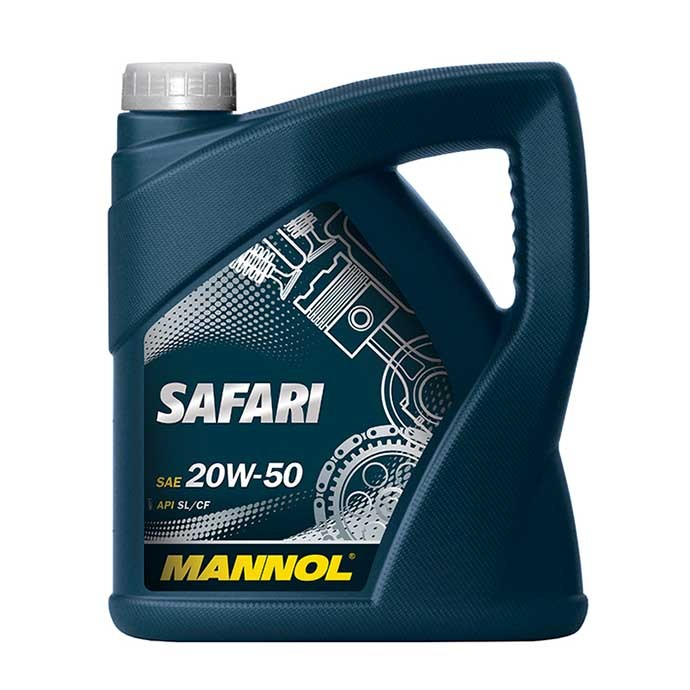 MANNOL SAFARI 20W50 SG/CD 5L