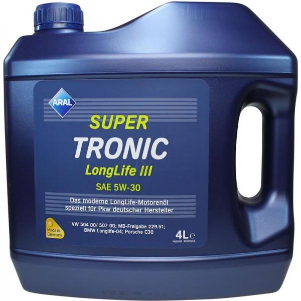 ARALSUPER TRONIC LL3 5W-30 507004X4L