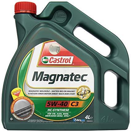 CASTROL MAGNATEC C3 5W40 NEW 4X4L