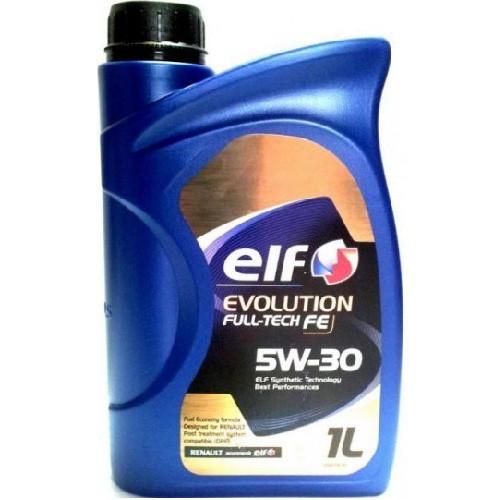 ELF EVOLUTIONFULLTECH FE 5W30(STARI NAZIV SOLARIS FE)RN0720